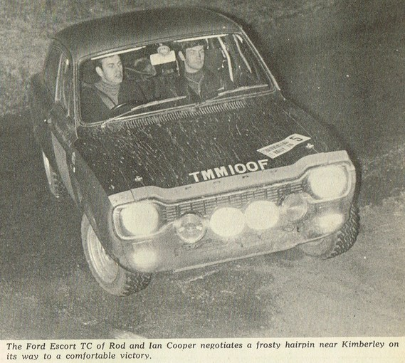 FORD Escort TC 1970 Clover Leaf rally R and I Cooper AUTOSPORT 01