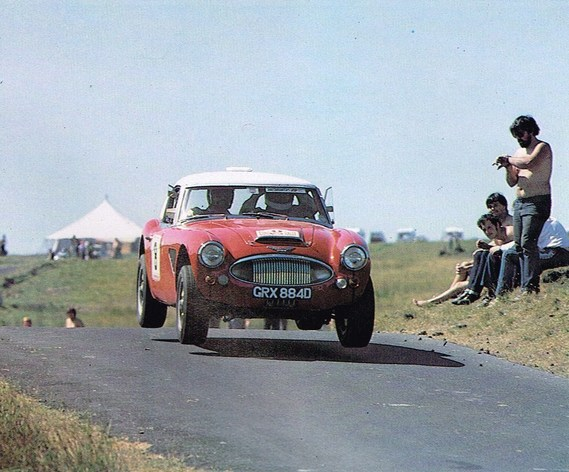 AUSTIN HEALEY 3000 Works CORONATION RALLY 1983 SPORTING CARS10
