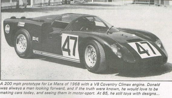 HEALEY Le Mans 1968 SPORTING CARS 1983 10