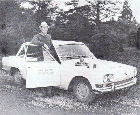 2000 MkI 1968 Atlantic Lakeland rally NZ Tony and Judy White-Johnson 1st