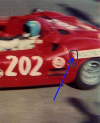 1969 #202 Fiat Abarth 1000 SP - decal