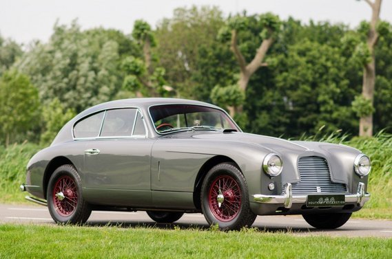 DB2-4  Medium Grey red Wheels