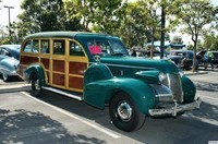 Cadillac Model 75 five door woody 1939 av