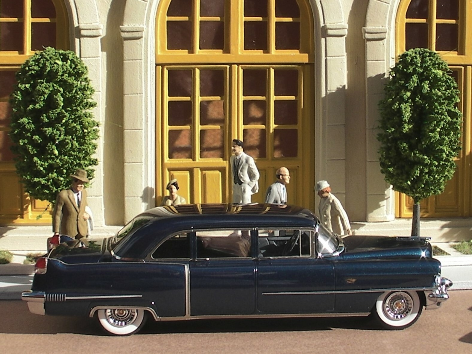 Cadillac 56 Serries 75 Fleetwood Limousine (2)