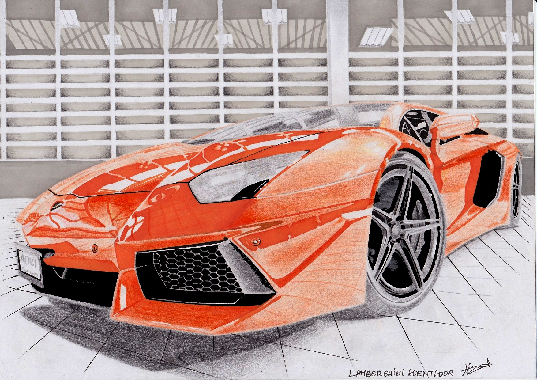 lamborghini aventador dessin id e d 39 image de voiture. Black Bedroom Furniture Sets. Home Design Ideas