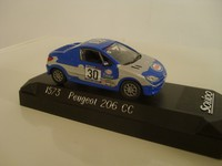 Peugeot 206 CC Coupe PTS Solido