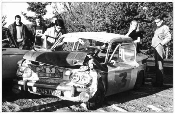 NSU MC67 accident MC Beaumont Ginette Derolland