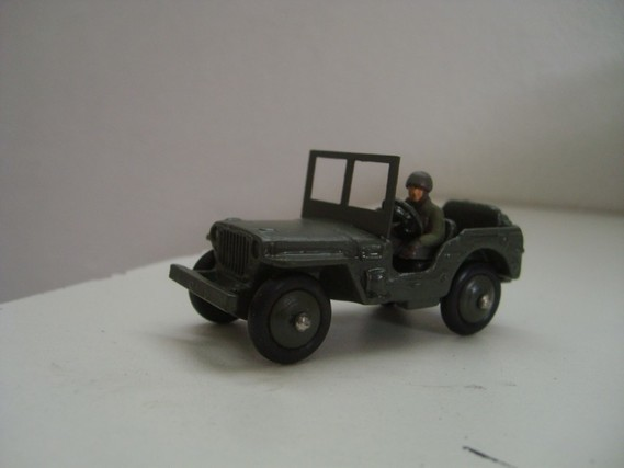 jeep Willys Dinky