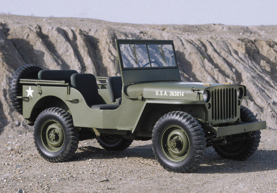 Jeep Willis Armée
