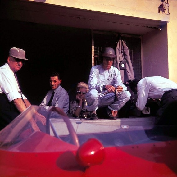 Drake et Ginther, Monza 60
