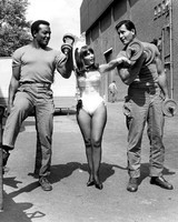 Jim Brown (former RB),  Dolly Read, Clint Walker
