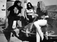 Tura Satana   Haji and Lori Williams