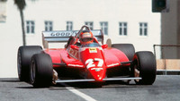 1982 Long Beach Villeneuve Ferrari 126 C2