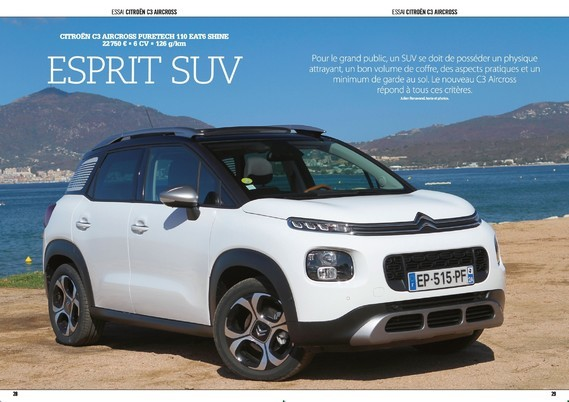 Test C3 Aircross 110 EAT6 - SUV Crossover n°19 (1)