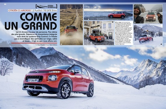 Test C3 Aircross 110 EAT6 - Auto-Journal n°999 (1)