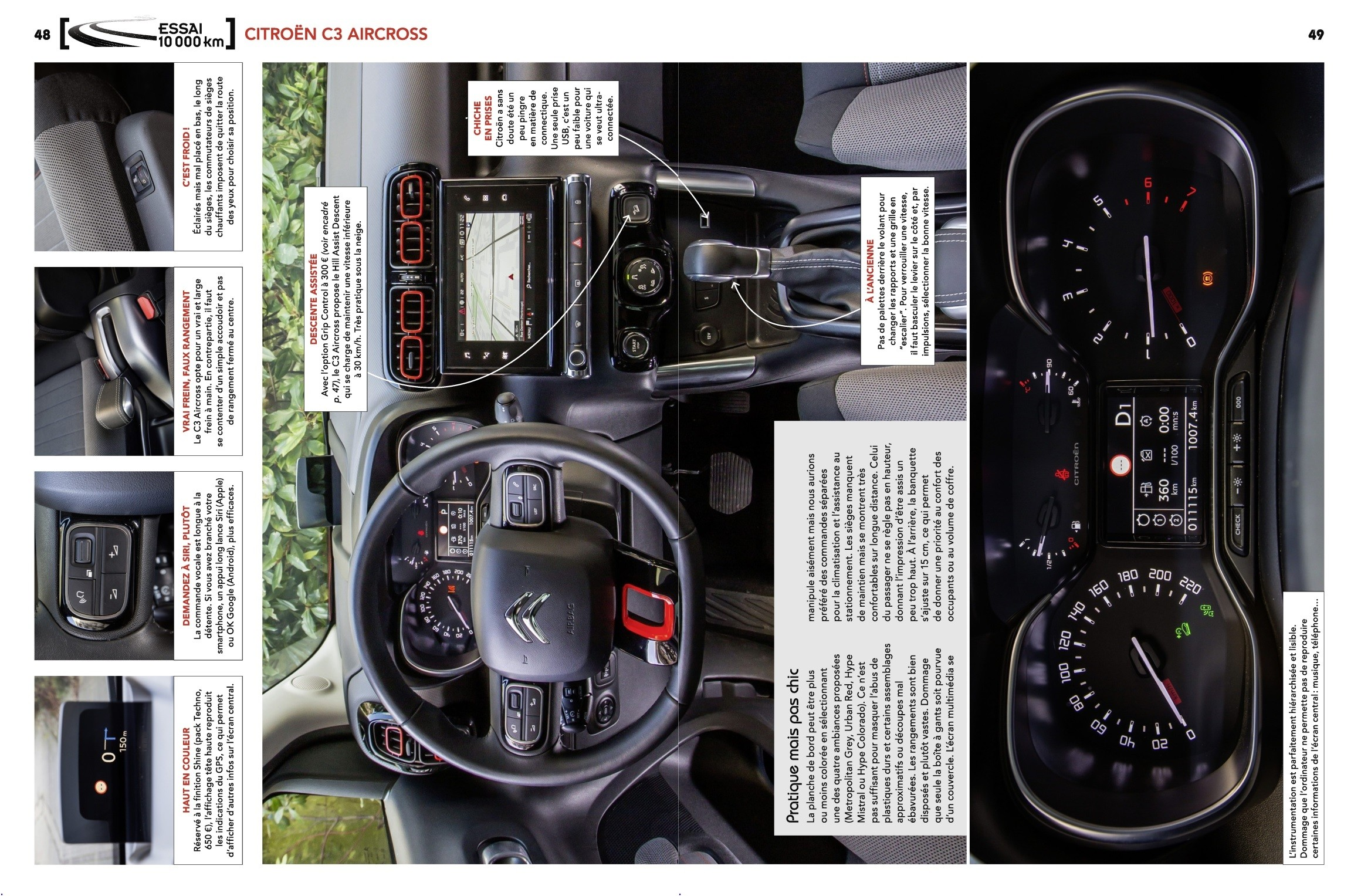 Test C3 Aircross 110 EAT6 - Auto-Journal n°999 (3)