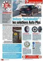 Solutions pour voiture inchainable - Auto Plus n°1531