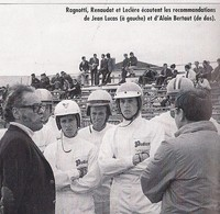 LECLERE coupe gord MAGNY-COURS 1968