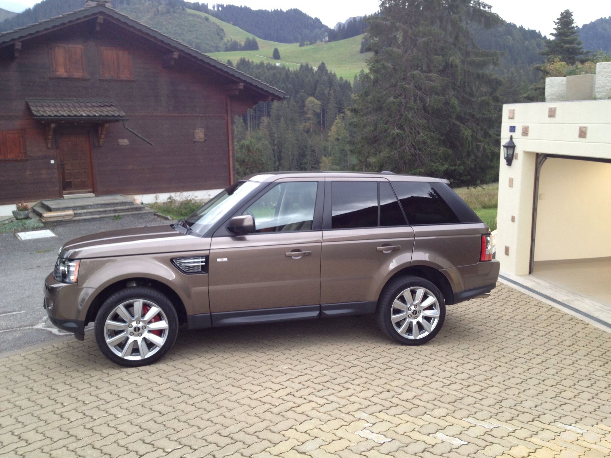 mon nouveau range sport v8 turbo range rover sport. Black Bedroom Furniture Sets. Home Design Ideas