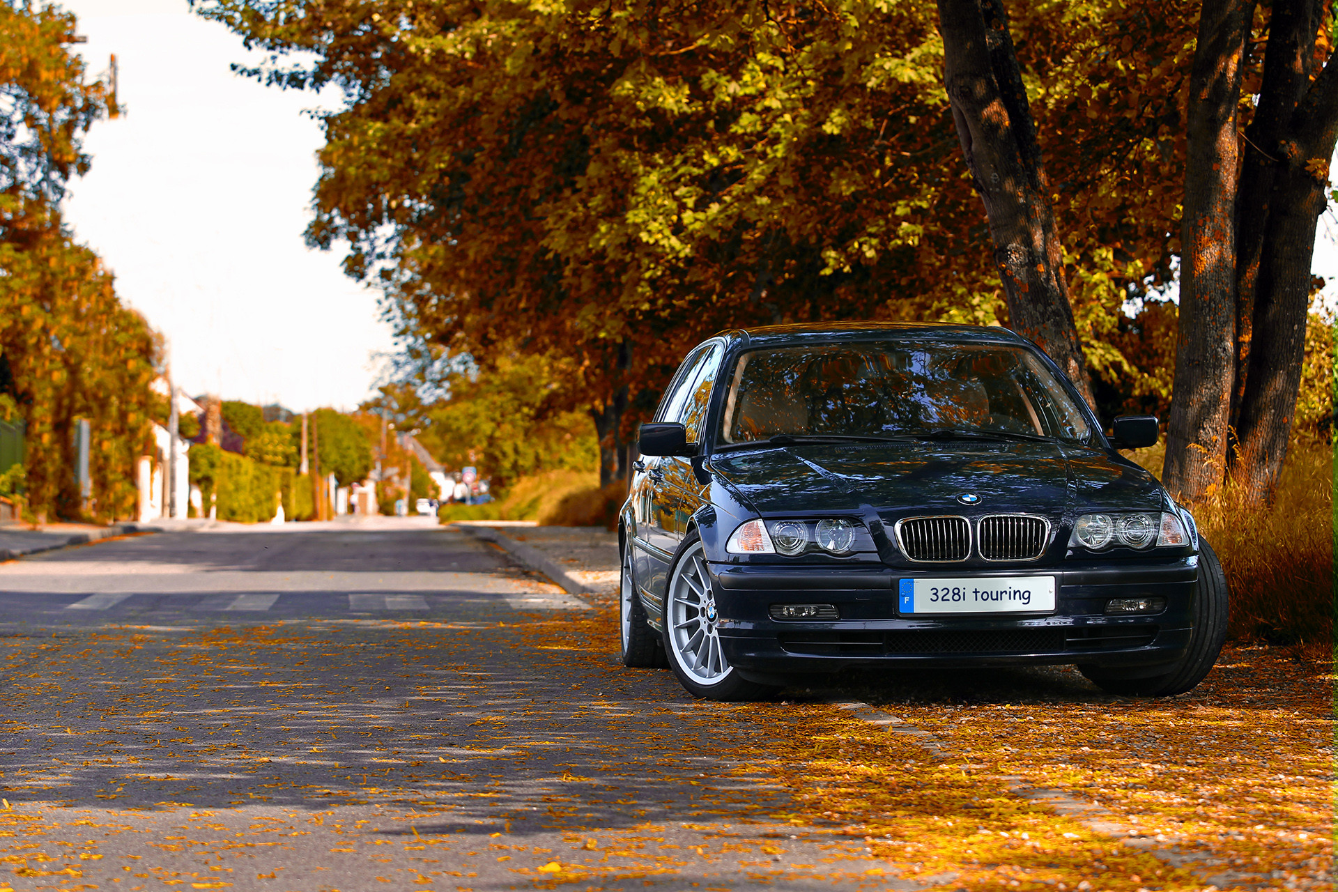 bmw 328i touring - été indien - Indian summer effect by Nik collection
