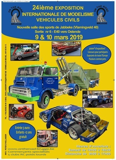 Affiche on the road 2019