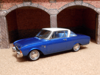 1964 Ford Taunus 17M P3 Coupe Deutsch(Neo Scale Models) 01