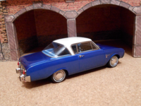 1964 Ford Taunus 17M P3 Coupe Deutsch (Neo Scale Models) 02