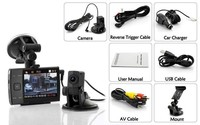 Package Includes 2 dashcam