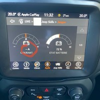 Jeep RenegadeConsole courant charge batterie