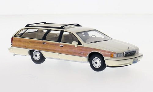 Chevrolet Caprice Wagon '91 Light Beige & Wood