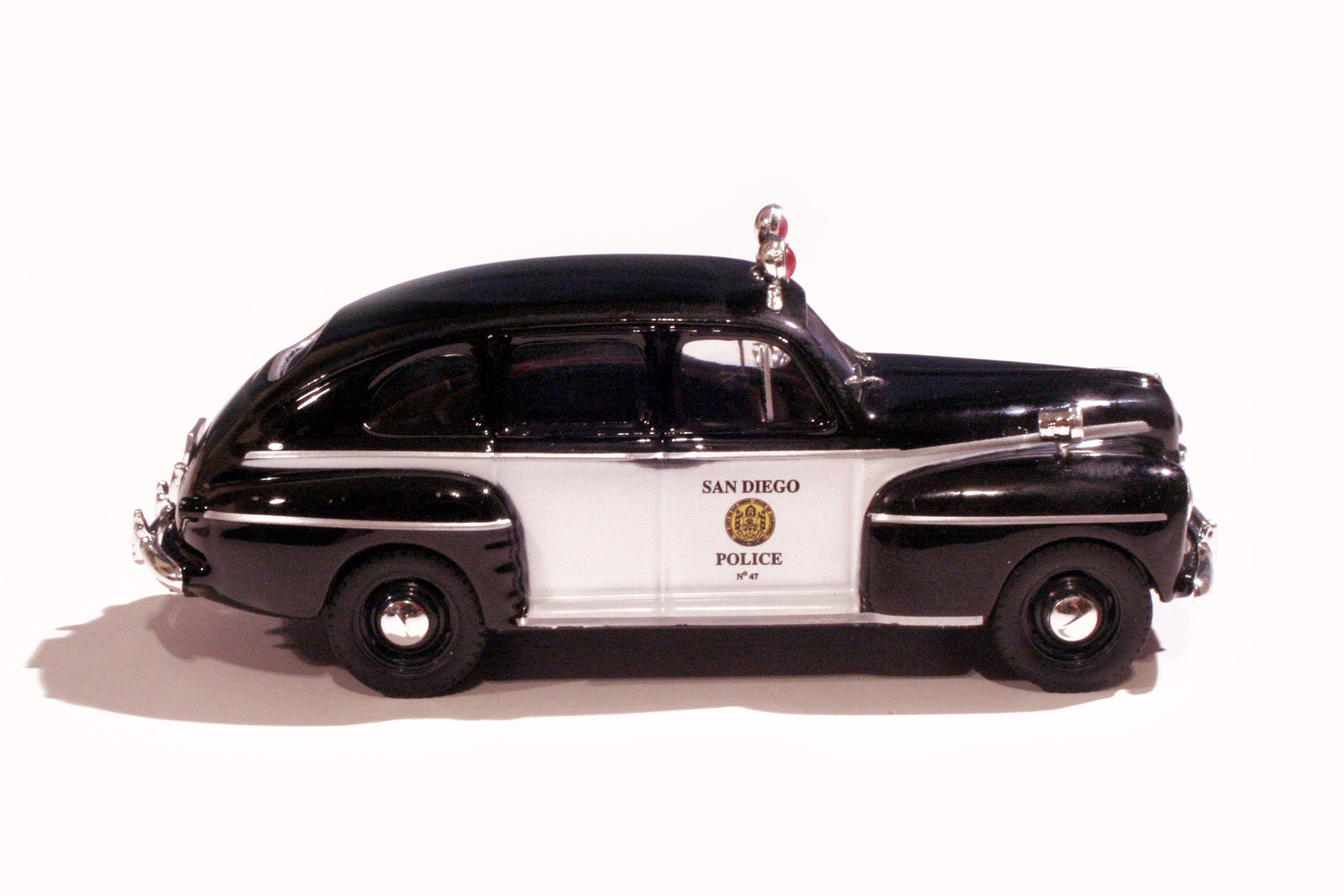 Ford Fordor '47 San Diego Police Dpt.
