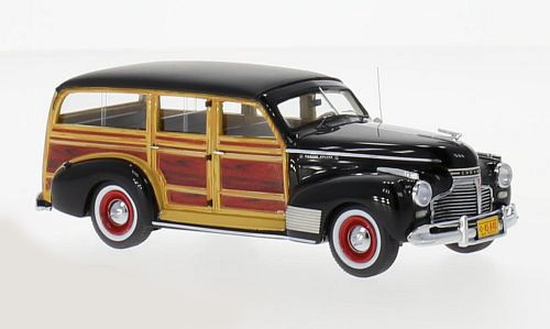 Chevrolet DeLuxe '41 SW Black & Wood