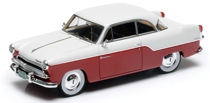 Willys Aero Bermuda '55 2-D HT Coupe White & Red