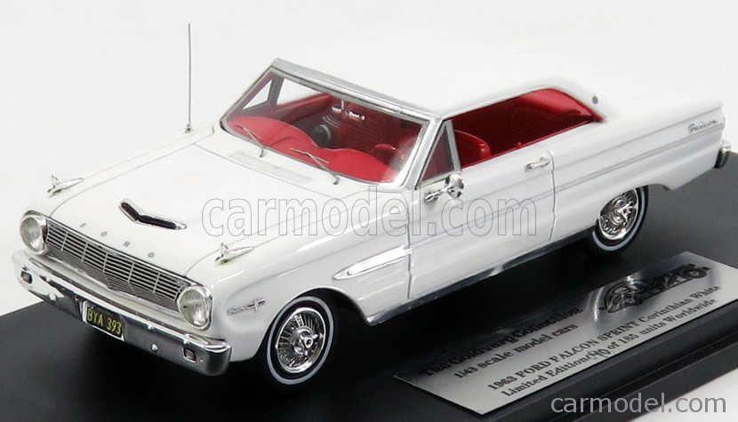 Ford Falcon Sprint '63 Polar White_Ltd Ed 1 of 185_GC010B
