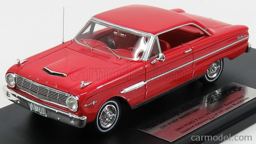 Ford Falcon Sprint '63 Rangoon Red_Ltd Ed 1 of 197_GC010A