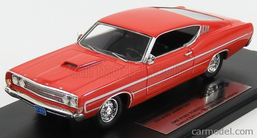 Ford Torino '69 Calypso Coral Red_Ltd Ed 1 of 202_GC009A