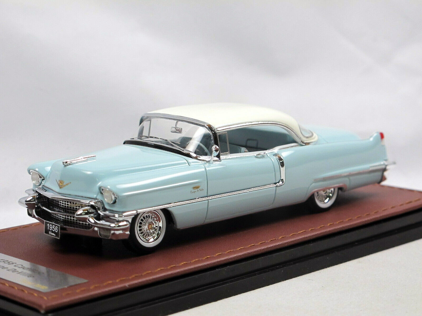 Cadillac Coupe DeVille '56 Sonic Blue & White_Ltd Ed 1 of 80_GLM119405