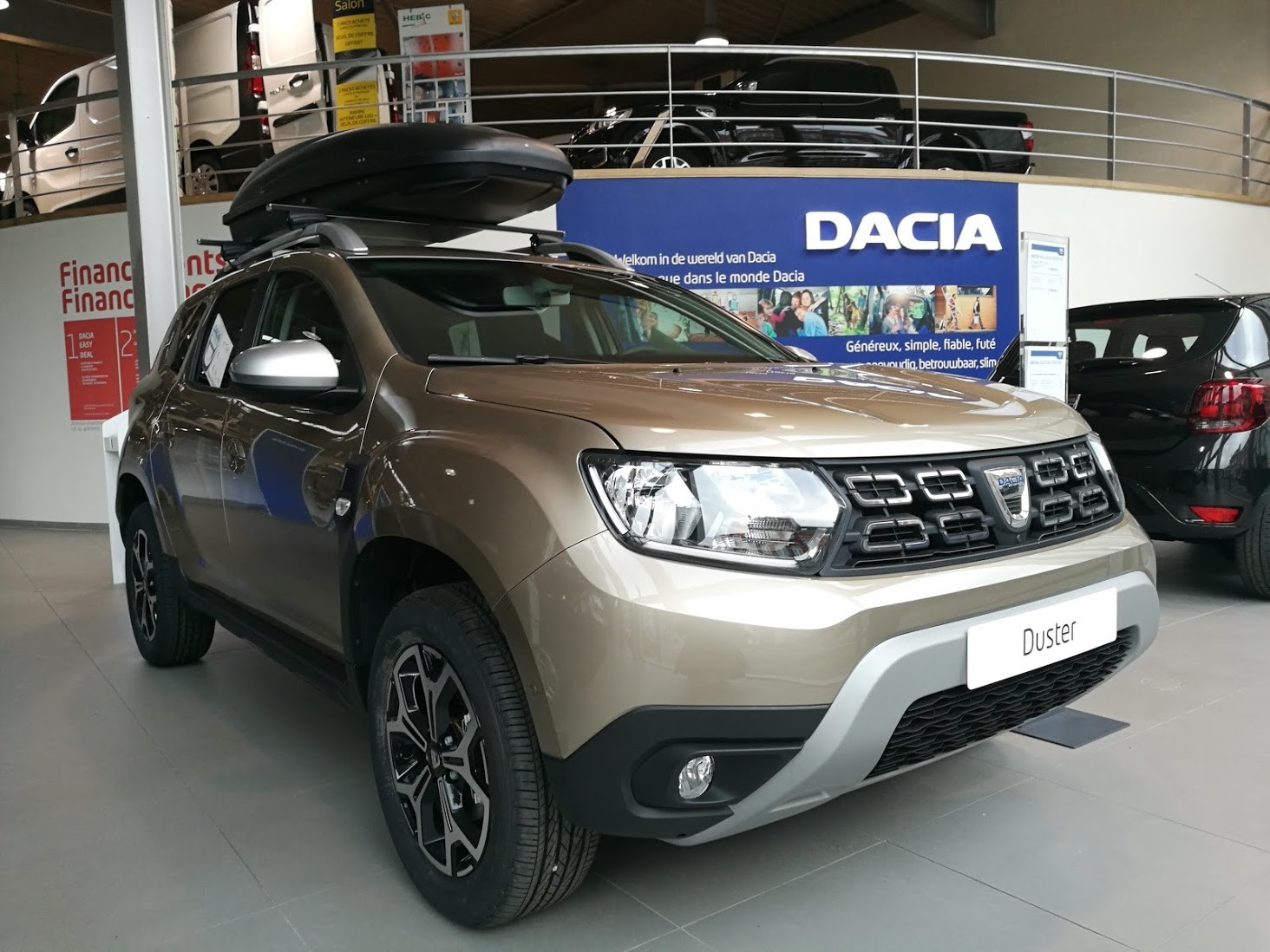 dacia duster ii 2017 page 110 duster dacia forum marques. Black Bedroom Furniture Sets. Home Design Ideas