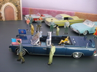 Ford Lincoln Continental limousine SS100X 1961 Editions Atlas