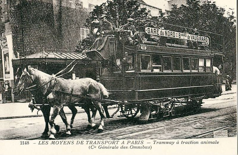 Tramways-a-traction-animale