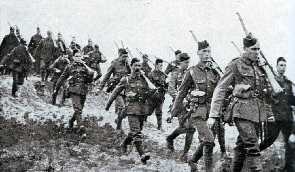 cameronians-in-france-1914