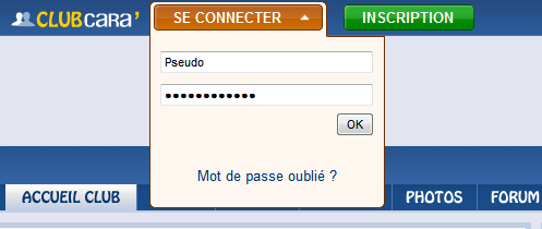 compte-connecter-passe-oublie