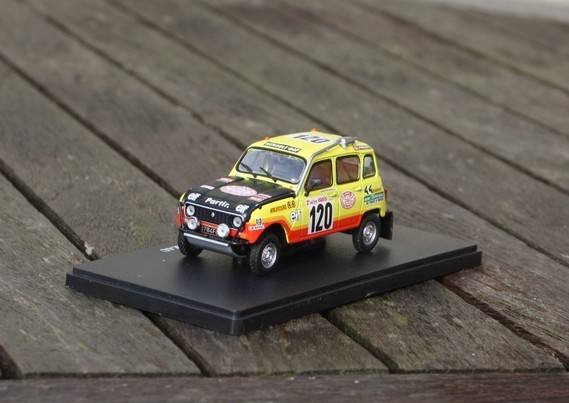 1/43 R4 Paris-Dakar 1980