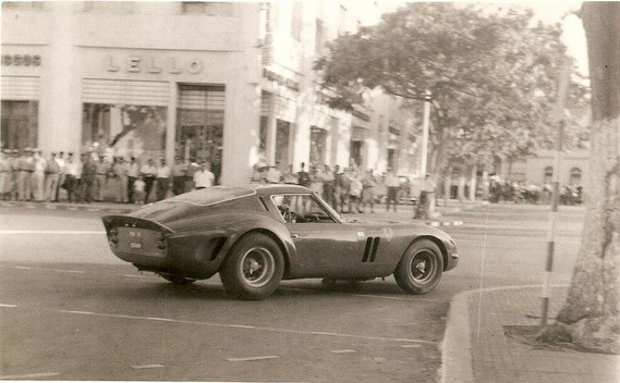 3757GT with Guy HAnsez at the wheel in 1963 Angola GP