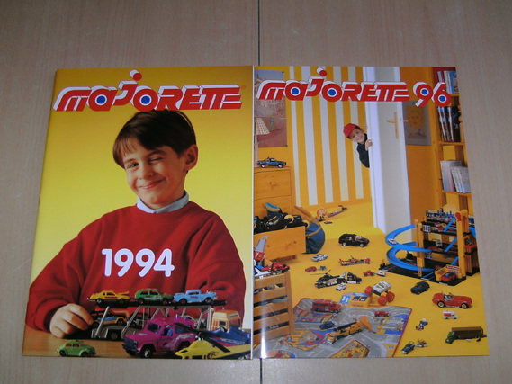 CATALOGUE MAJORETTE 1994-1996