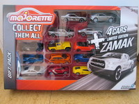 COFFRET MAJORETTE + 4 CARS LIMITED EDITION ZAMAK SERIES 5