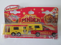 MAJORETTE PINDER CAMPING CAR DELUXE