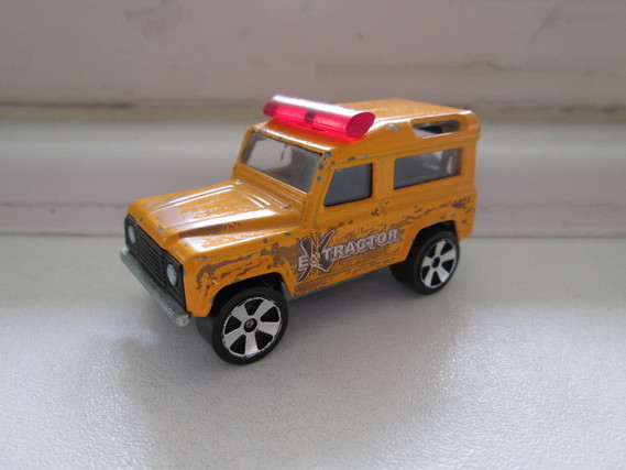 MAJORETTE LAND ROVER N°266 EXTRACTOR