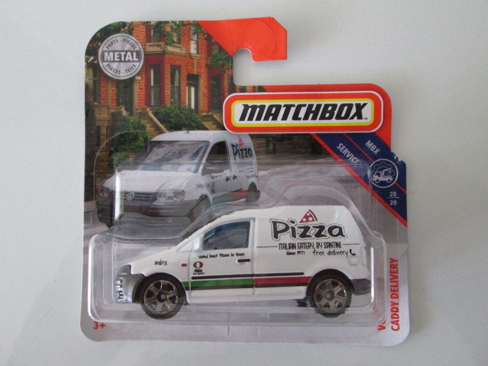 MATCHBOX VOLKSWAGEN CADDY DELIVERY