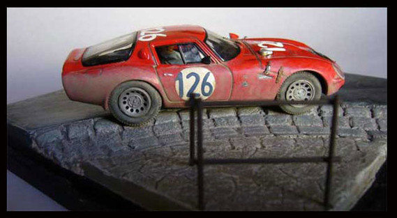 1966 - 126 Alfa Romeo Giulia TZ 2 - Alfa Romeo Collection 1-43 (2)